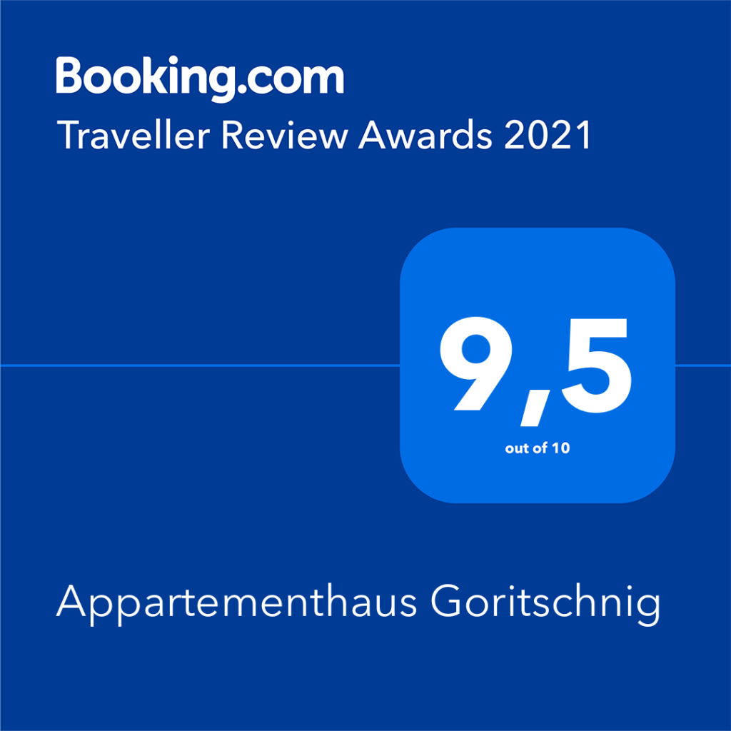 Booking.com-Award_Appartementhaus Goritschnig